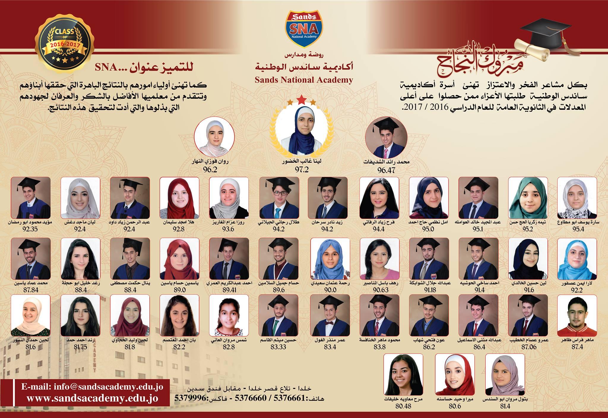 tawjihi 1st semester